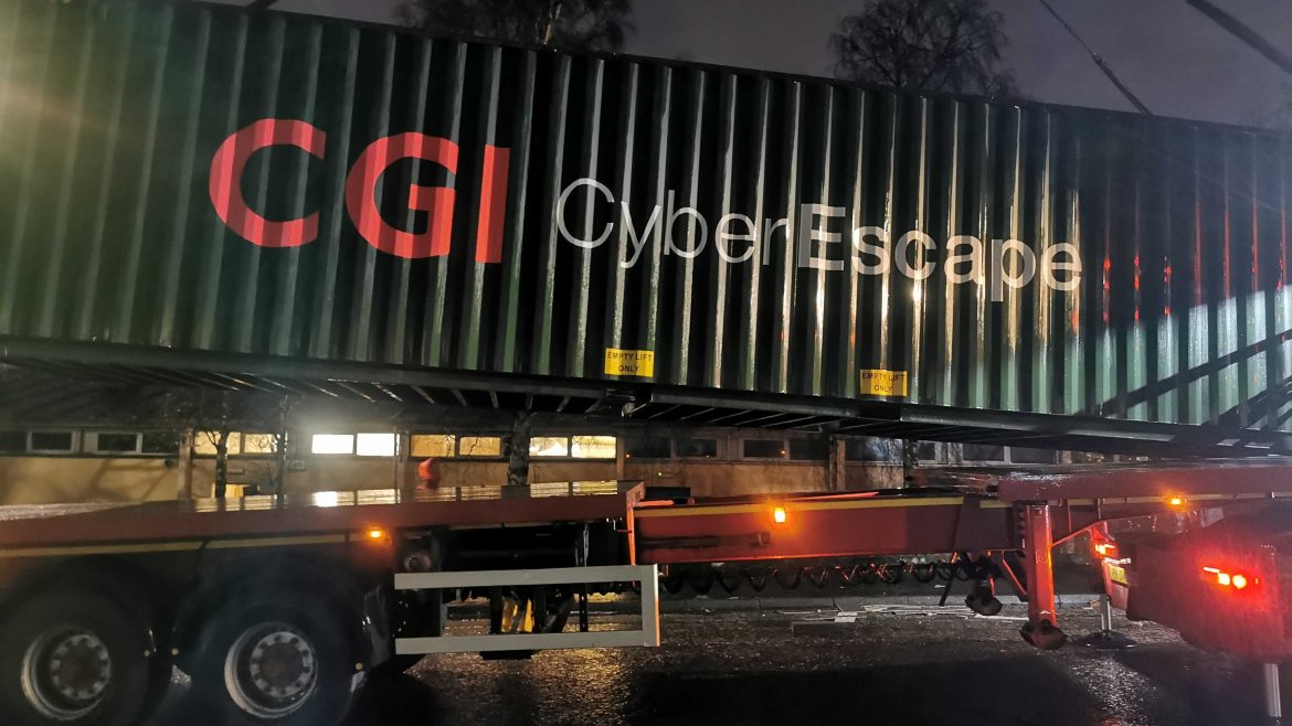 cgi shipping container escape game